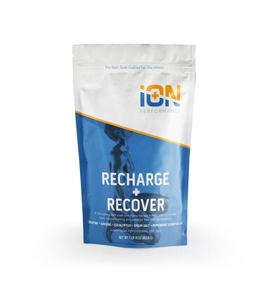 Recharge + Recover Creatine Mg Soak for Preparation and Recovery