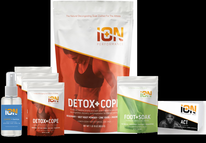 iON Detox + Clean Kit