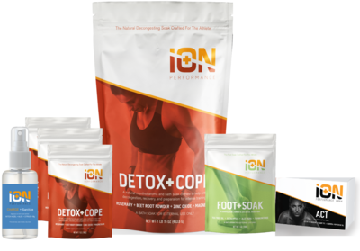 iON Detox + Clean Kit