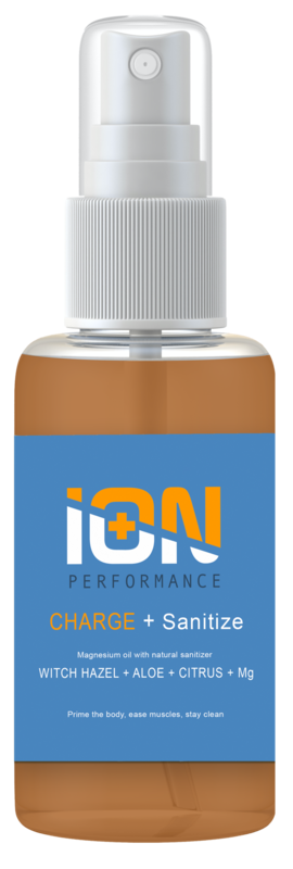 CHARGE + Sanitize Magnesium Muscle Spray