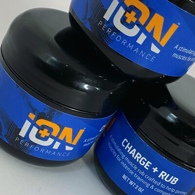iON Charge Creatine +  Mg + Cayenne Rub 3 Pack