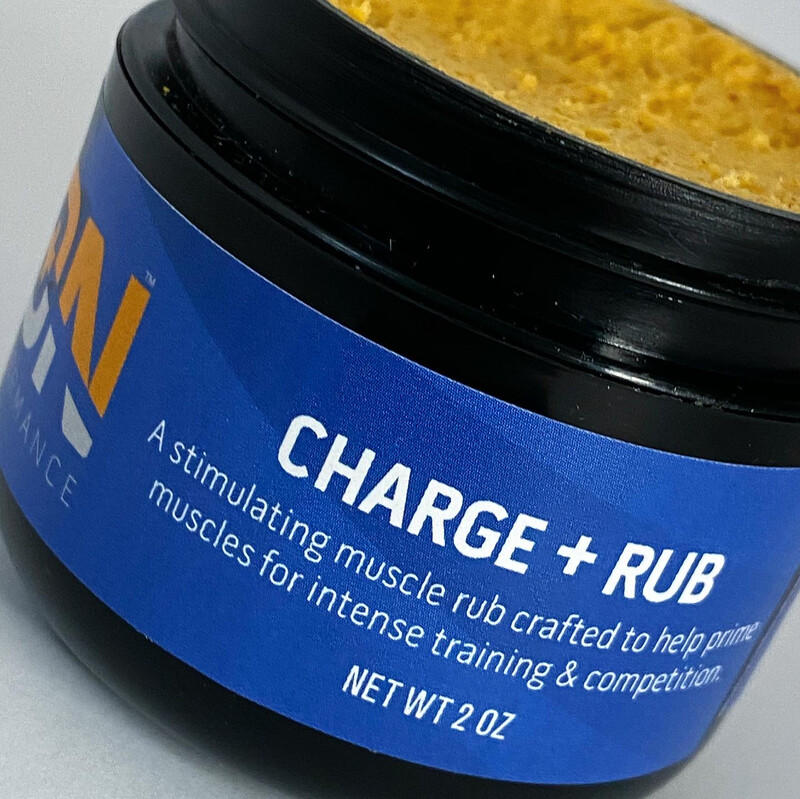 iON Charge Creatine + Mg + Cayenne Warmup Rub