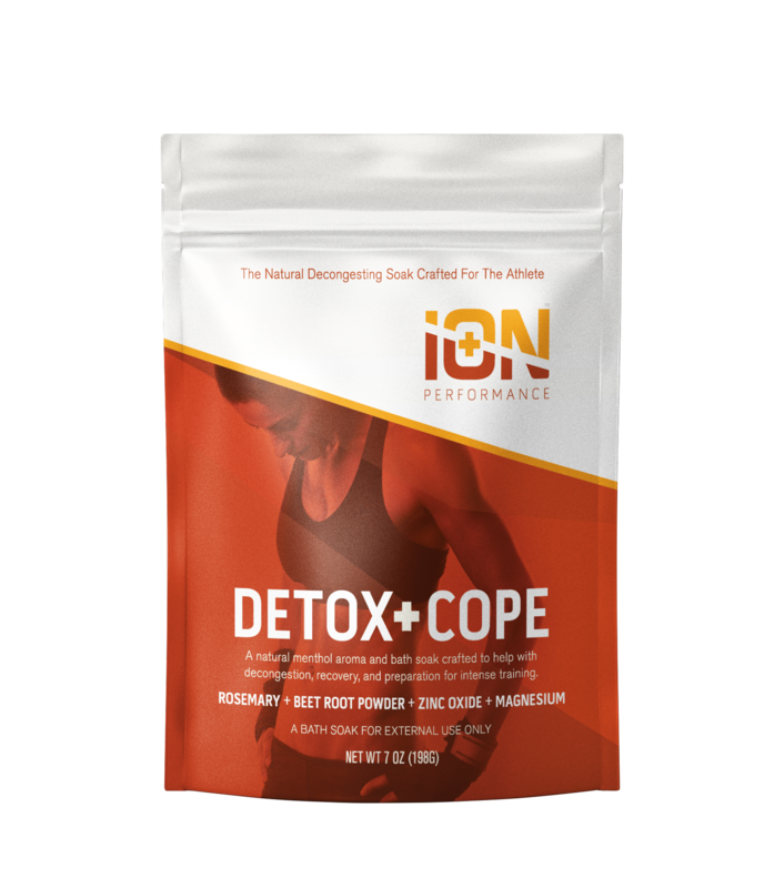 iON Detox + Cope Natural Menthol Travel Pouch 6 Pack