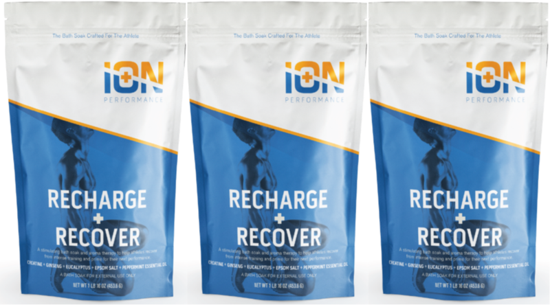 Recharge + Recover Creatine Soak 3 Pack