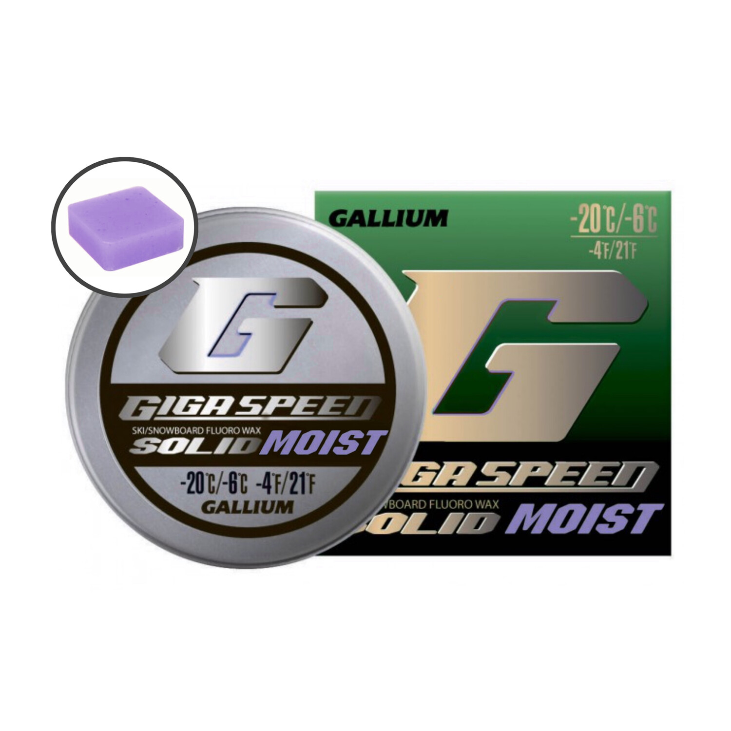 GIGA SPEED Solid MOIST