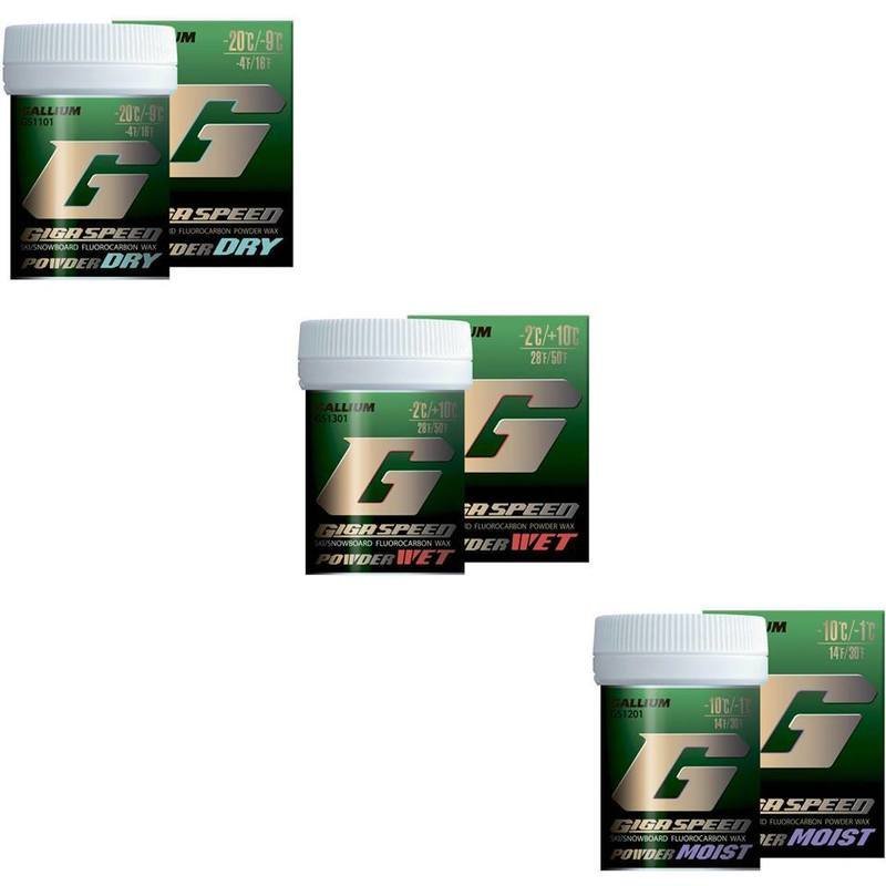 GIGA SPEED POWDER Dry/Wet/Moist (20g/30g)