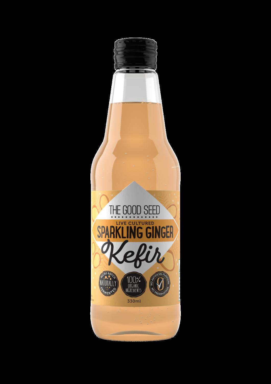 12 x 330ml Sparkling Ginger Probiotic, Water Kefir