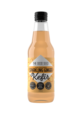 12 x 330ml Sparkling Ginger Probiotic, Water Kefir