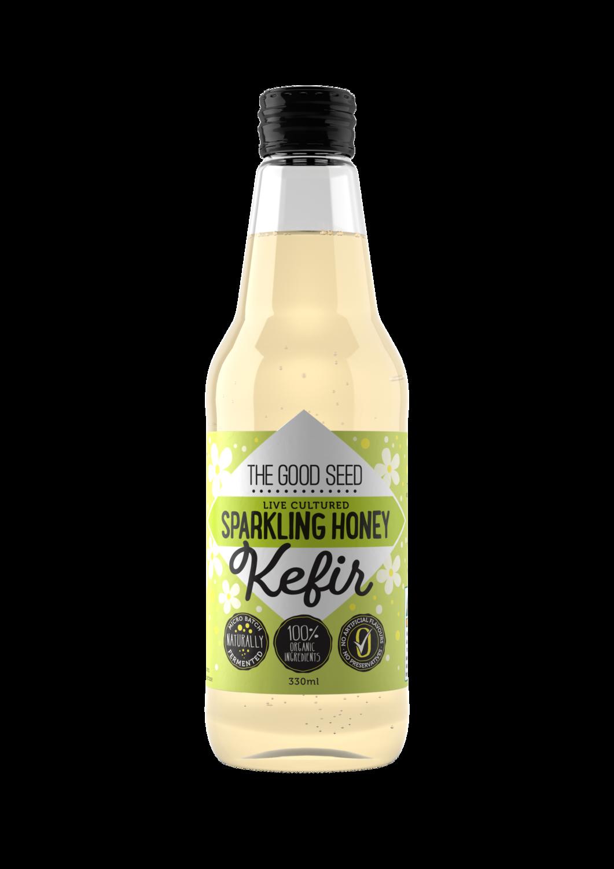 12 x 330ml Sparkling Honey (Chrysanthemum) Probiotic, Water Kefir