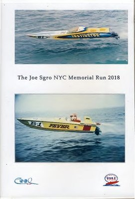 The Joe Sgro NYC Memorial Run - 2018 DVD