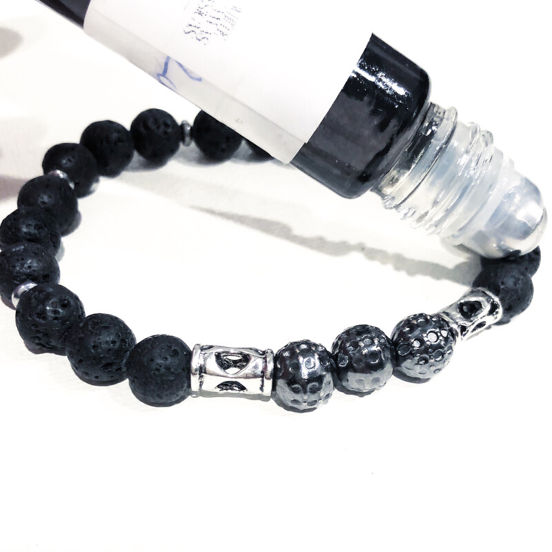 'Magma' Aspire Wellness Collection  All our Lava Stone Bracelets are Aromatherapy Diffusers.
