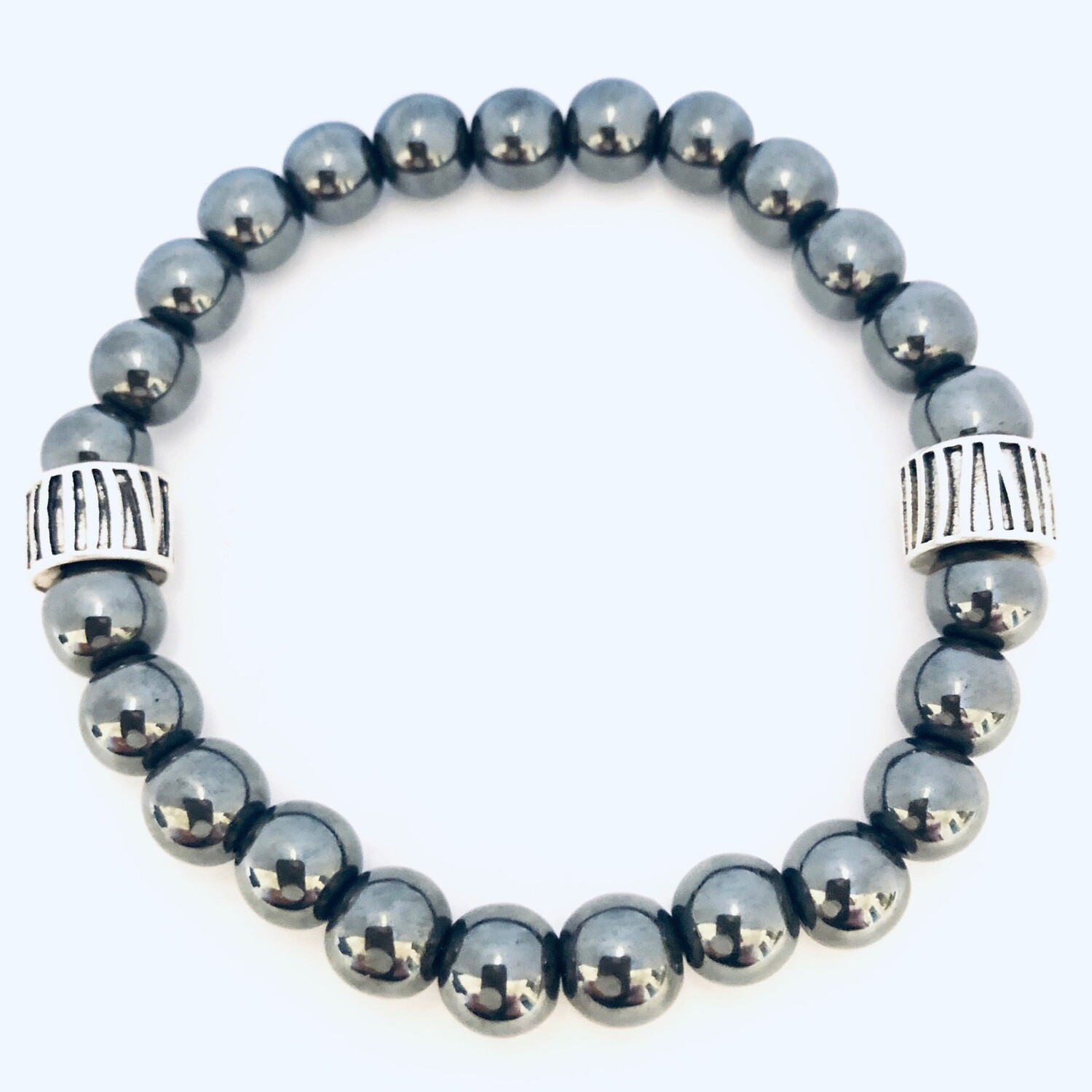 """Aspire"" Wellness Collection All Natural Hematite Bracelet"
