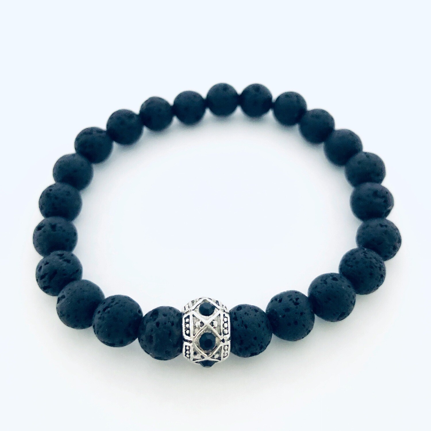 'Magma' Aspire Wellness Collection  Lava Stone Diffuser Bracelet.