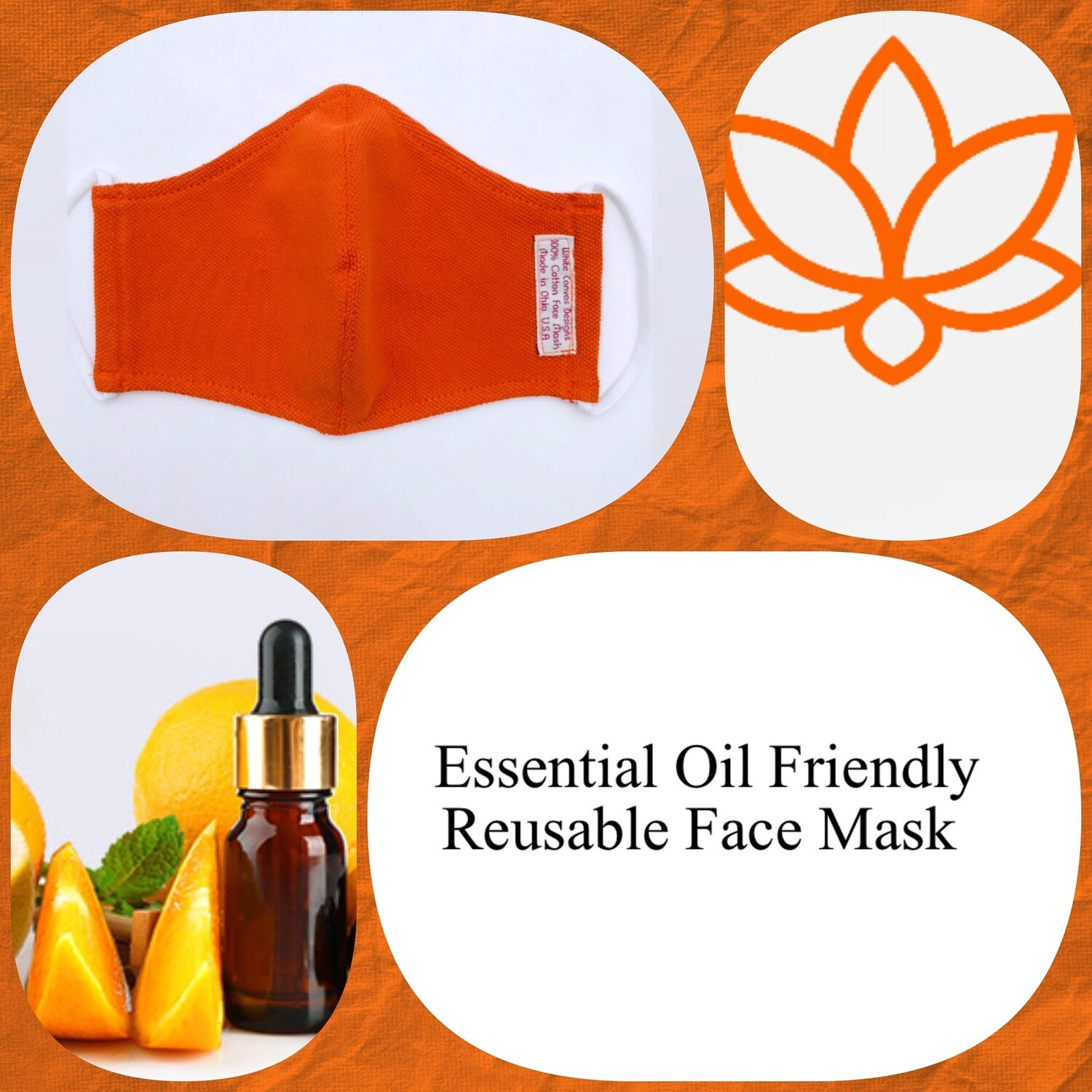 Essentials Oil Friendly Face Mask