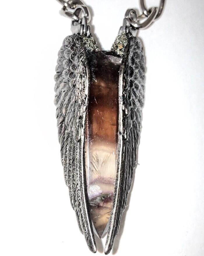 Archangels Collection:Smokey Fluorite /Healing Angel