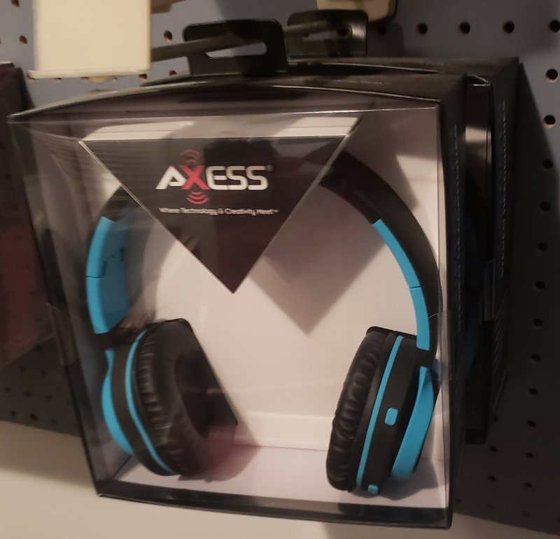 Axess Bluetooth Headphones (Blue)