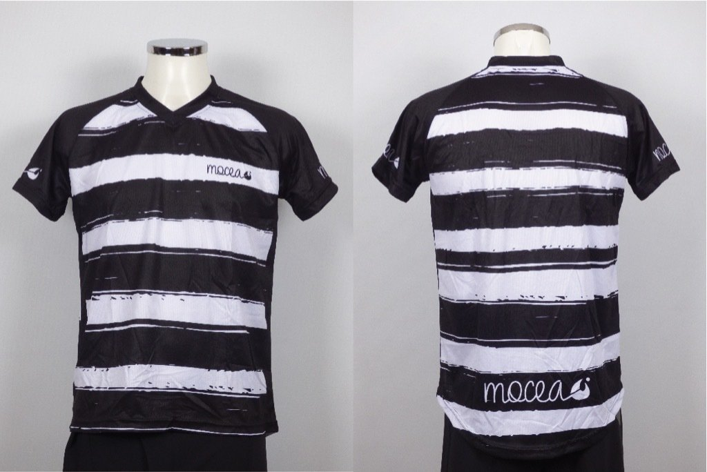 mocea stripes black n' white
