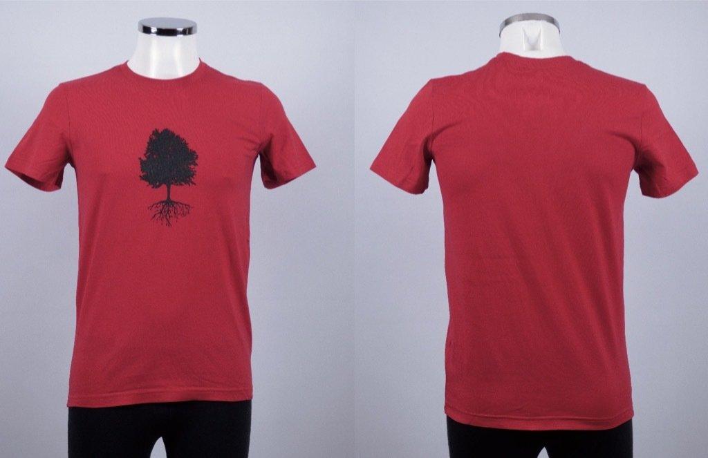 tree deep red