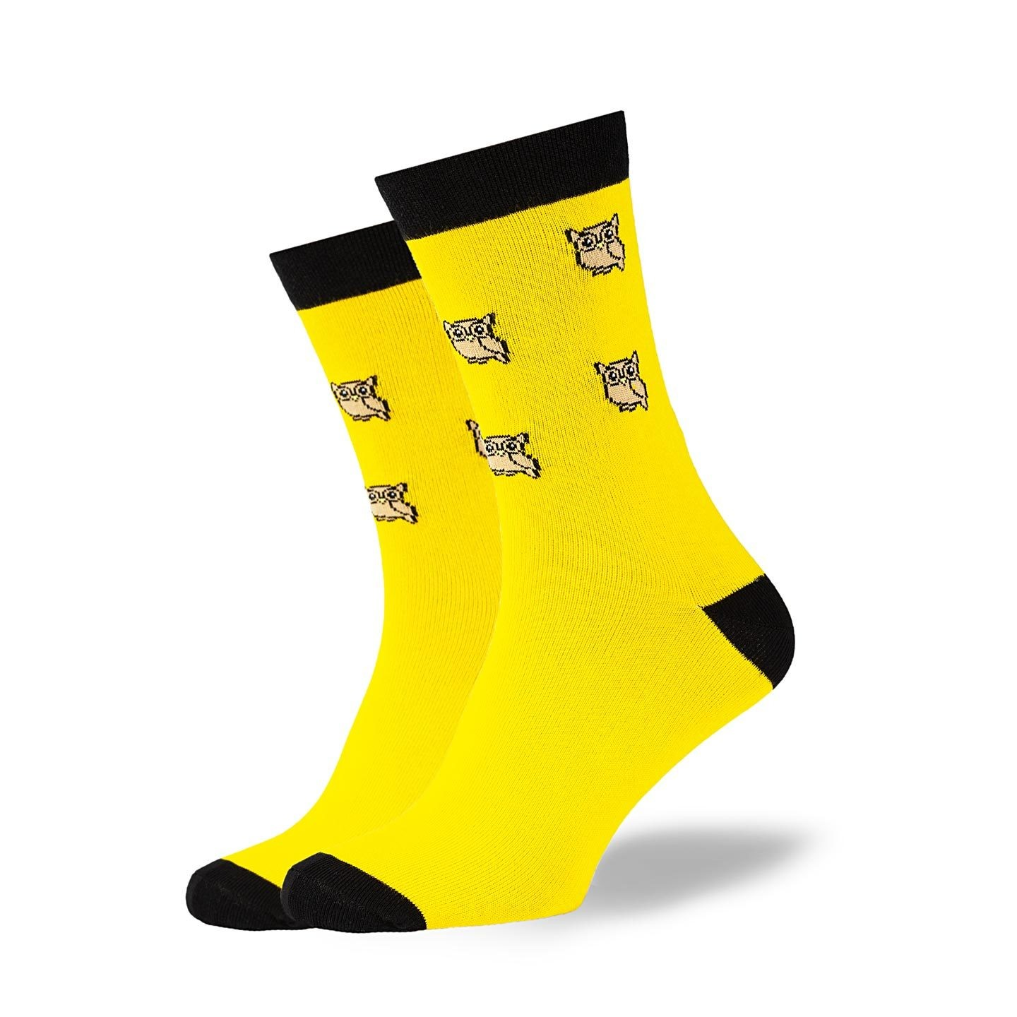 GoodSox - Yellow owls