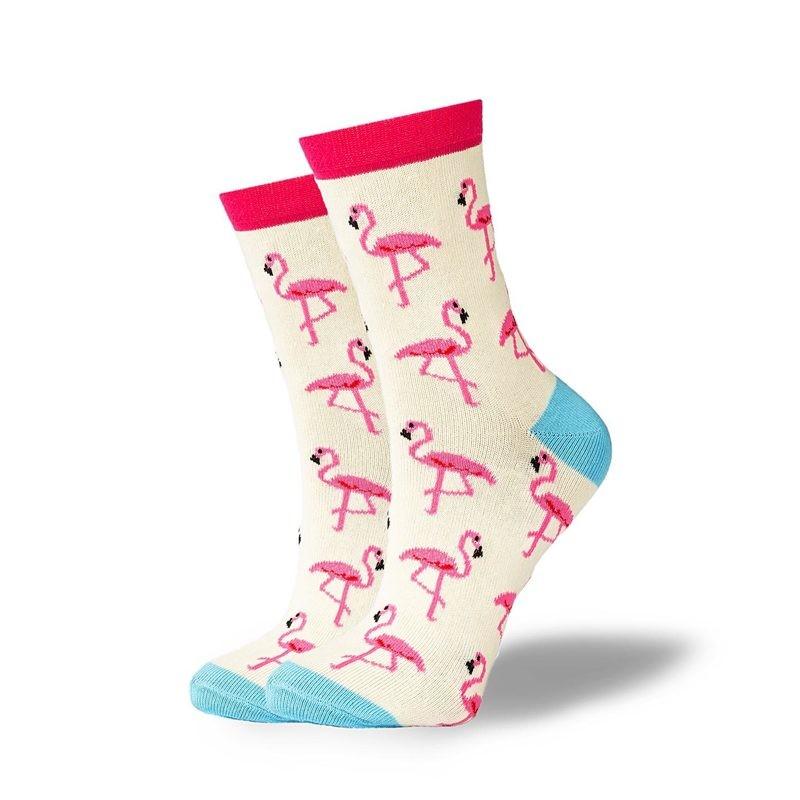GoodSox - Pink Flamingo