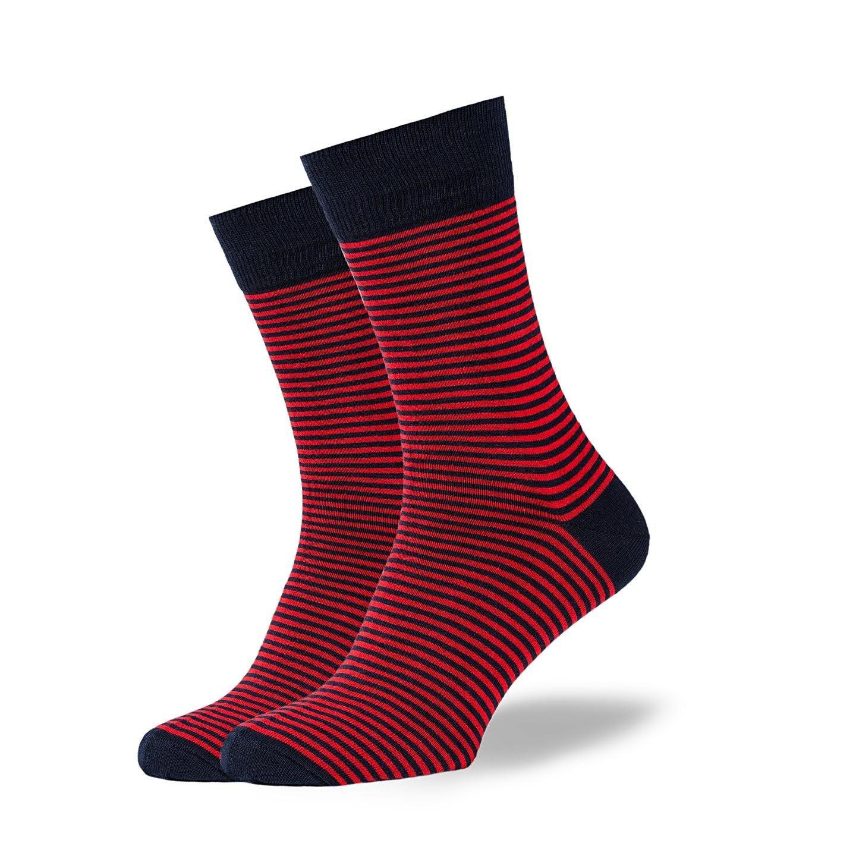 Носки GoodSox - Red Stripes