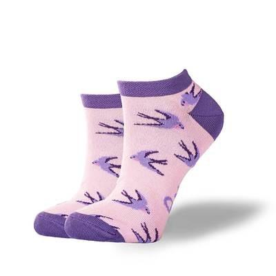 Носки GoodSox - Purple bird