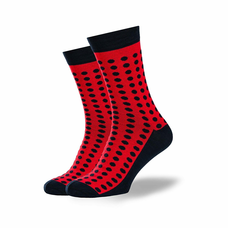 Носки GoodSox - Red in Black