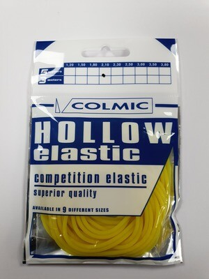 Hollow elastiek Yellow 2,1 mm