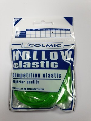 Hollow elastiek Green 2,5 mm