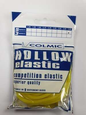 Hollow elastiek Yellow 3,8 mm
