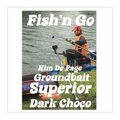 Groundbait Superior Dark Choco 800 Gr.