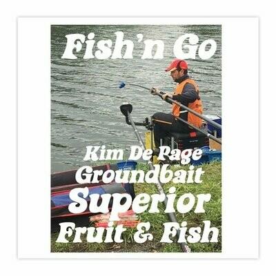Groundbait Superior Fruit & Fish 800 Gr.