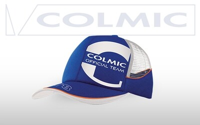CAPPELLO BLU CON RETE - Orange Series