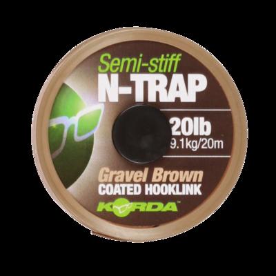 N-Trap Semi Stiff  20LB Gravel Brown