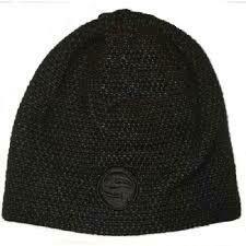 Skullcap Black / Grey Beanie