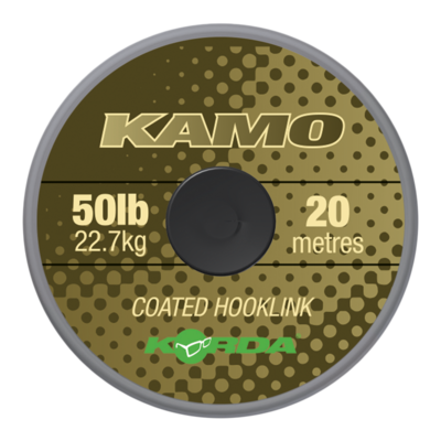 Kamo coated Hooklink 80lb