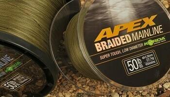 Apex Braided Mainline 50lb - 450 m