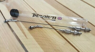 TITANIUM LONG ARM ONLY (NO HEAD OR CLIPS)