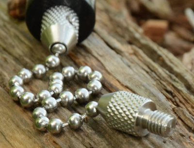 STAINLESS BALL CHAIN 9 INCH