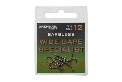 Wide Gape Specialist- Barbless Eyed