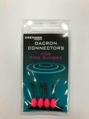 Dacron Connectors PINK 14 -16