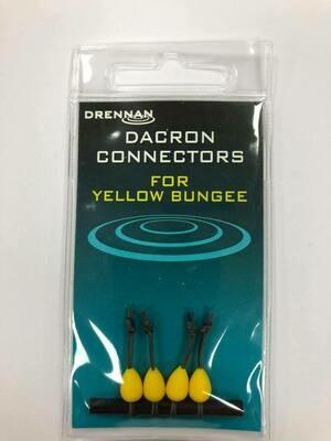 Dacron Connectors YELLOW 10 -12