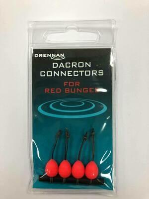 Dacron Connectors RED 18 -20