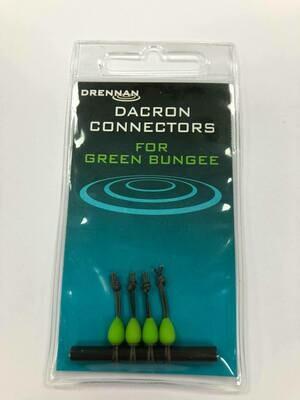 Dacron Connectors GREEN  6 -8