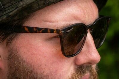 Shoreditch - Matt Tortoise Shell/ Brown Lens