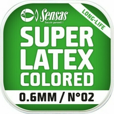 SUPER LATEX GEKLEURD 1,0MM