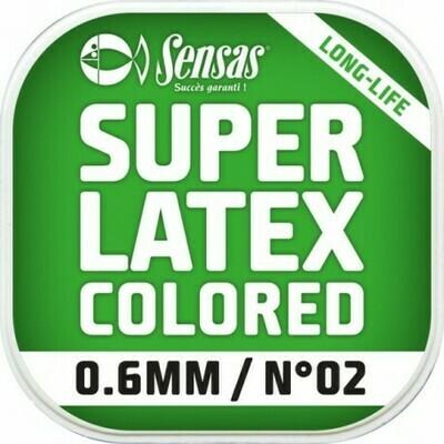 SUPER LATEX GEKLEURD 0,8MM