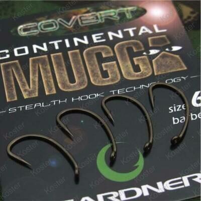 COVERT CONTINENTAL-MUGGA HOOKS BARBED