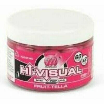 High Visual Mini Pop-ups Pink Fruittella 10 mm