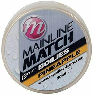 Match Boilies 8mm - Yellow - Pineapple **